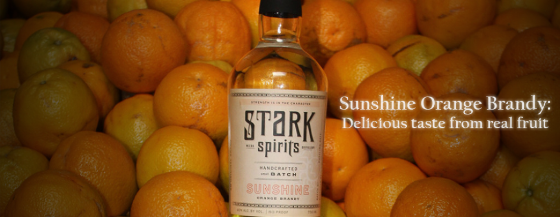 Sunshine Orange Brandy: Delicious taste from real fruit